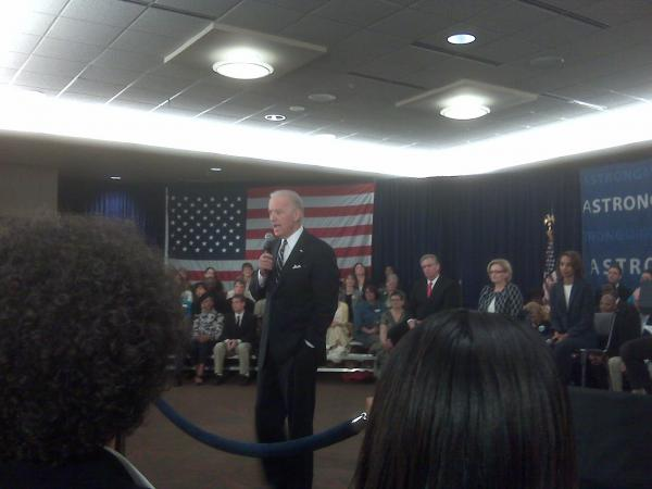 VP Biden at UMSL