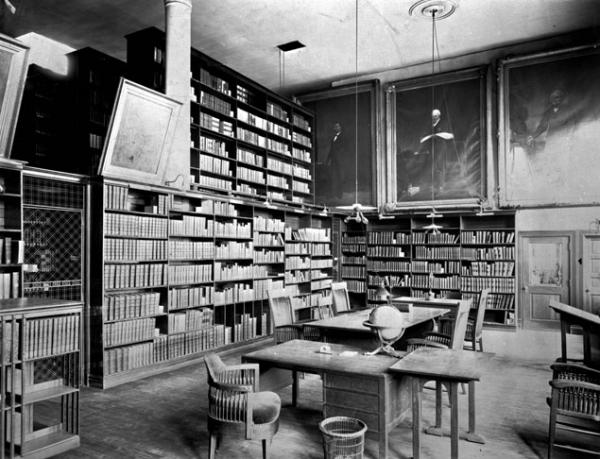 Reference Room (ca. 1887)