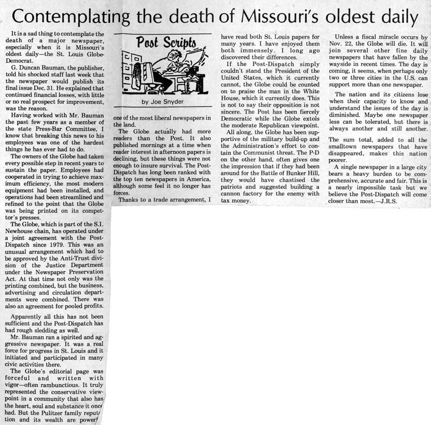 Gallatin North Missourian - November 16, 1983