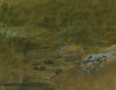 Landscape Study by Charles Marion Russell
