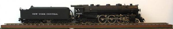 "Model of New York Central ""Hudson Class"" J1c #5265"