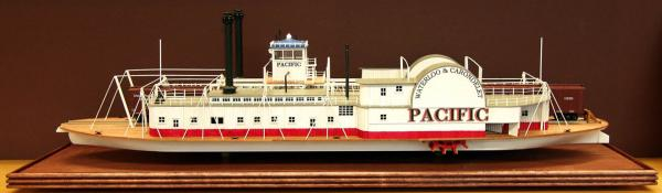 Model of Steamer Pacific