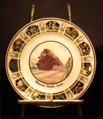 Missouri Pacific Lines Dining Car Service Plate
